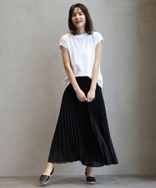 INED / イネド ミニ・ひざ丈スカート | ロングプリーツスカート | 詳細16