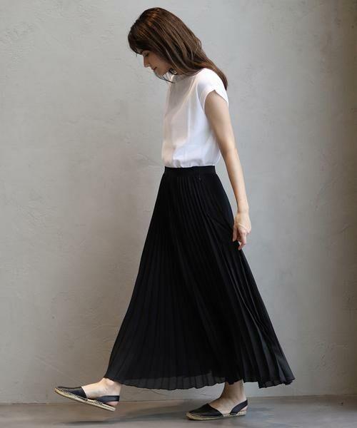 INED / イネド ミニ・ひざ丈スカート | ロングプリーツスカート | 詳細17