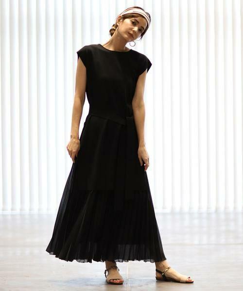 INED / イネド ミニ・ひざ丈スカート | ロングプリーツスカート | 詳細19