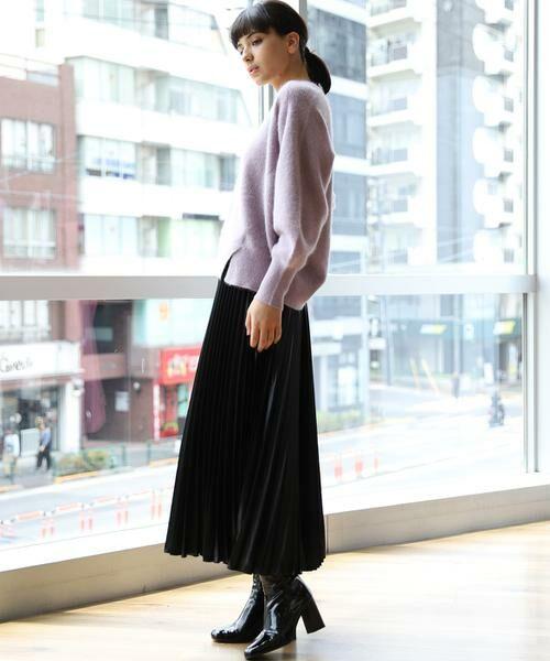 INED / イネド ミニ・ひざ丈スカート   プリーツスカート   詳細14
