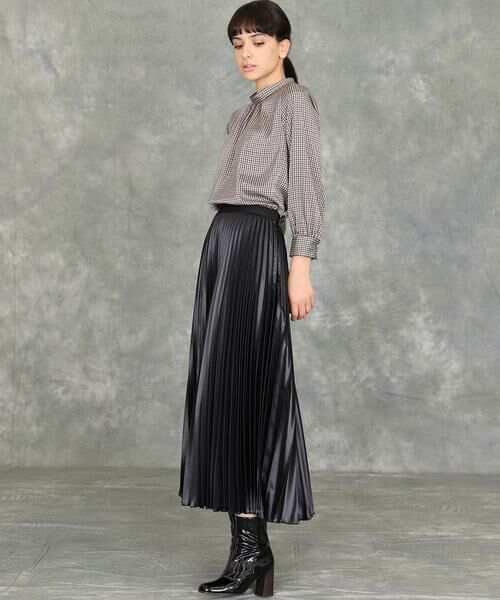 INED / イネド ミニ・ひざ丈スカート   プリーツスカート   詳細6
