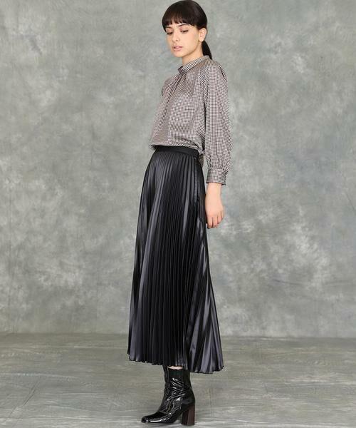 INED / イネド ミニ・ひざ丈スカート   プリーツスカート   詳細20