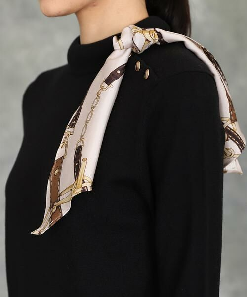 INED / イネド ニット・セーター | スカーフ付プルオーバーニット | 詳細5