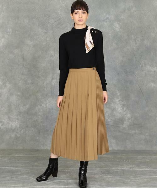 INED / イネド ニット・セーター | スカーフ付プルオーバーニット | 詳細7