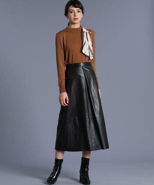 INED / イネド ニット・セーター | スカーフ付プルオーバーニット | 詳細9