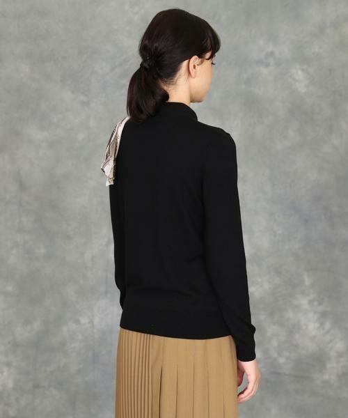 INED / イネド ニット・セーター | スカーフ付プルオーバーニット | 詳細13