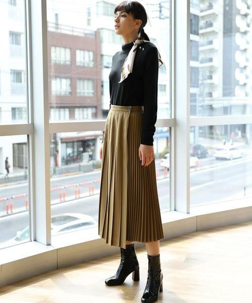 INED / イネド ニット・セーター | スカーフ付プルオーバーニット | 詳細17