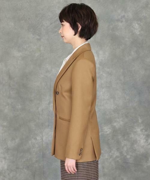 INED / イネド テーラードジャケット | 《INED international》ダブルブレストジャケット | 詳細3