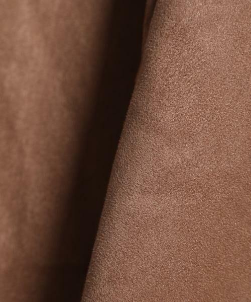 INED / イネド ミニ・ひざ丈スカート | フェイクスエードフレアスカート《KOMASUEDE》 | 詳細5