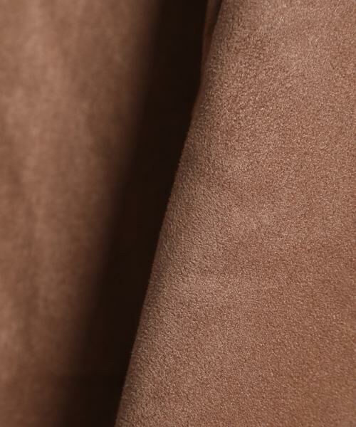 INED / イネド ミニ・ひざ丈スカート | フェイクスエードフレアスカート《KOMASUEDE》 | 詳細25