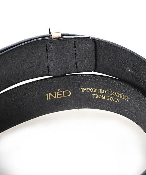 INED / イネド ベルト・サスペンダー | シンプルレザーベルト | 詳細3