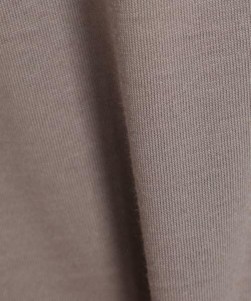 INED / イネド Tシャツ | フレンチスリーブカットソー《スビン綿Mix天竺》 | 詳細5