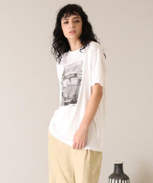INED / イネド Tシャツ | 《SUPERIOR CLOSET》Hollywood Dog Tシャツ《GOOD ROCK SPEED》(オフホワイト1)