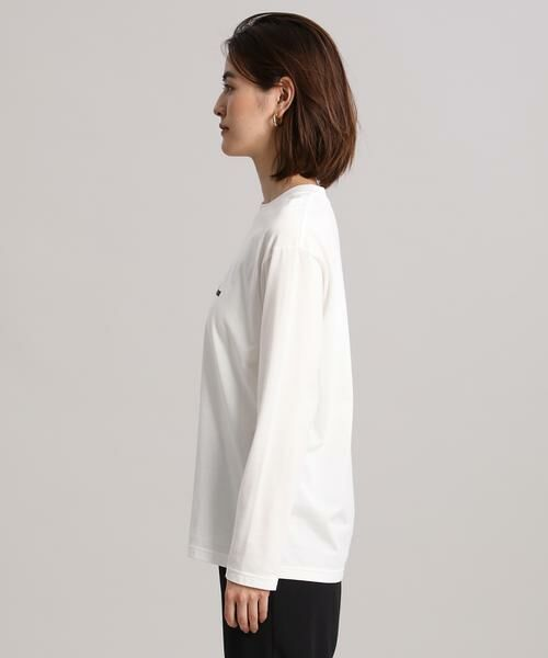 INED / イネド Tシャツ | 《Maison de Beige》ロゴカットソー | 詳細3