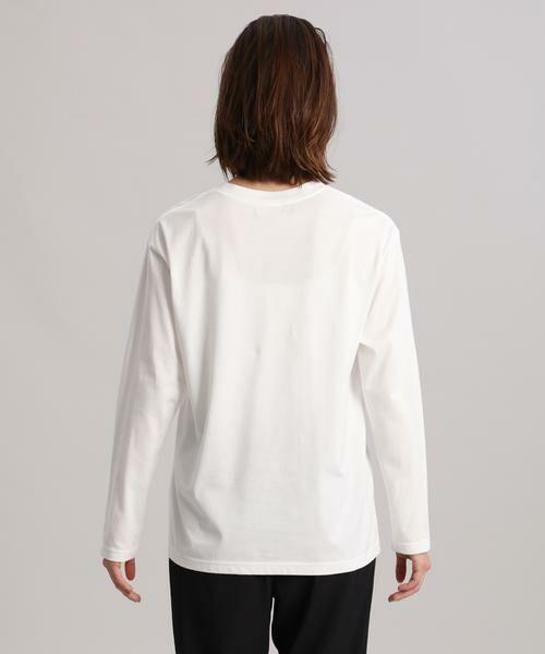 INED / イネド Tシャツ | 《Maison de Beige》ロゴカットソー | 詳細4