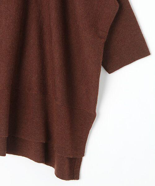 INGEBORG / インゲボルグ ニット・セーター | Vネックニットプルオーバー | 詳細6