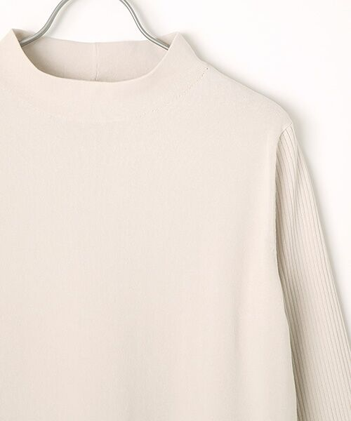 INGEBORG / インゲボルグ ニット・セーター | モックネックロング丈セーター | 詳細2