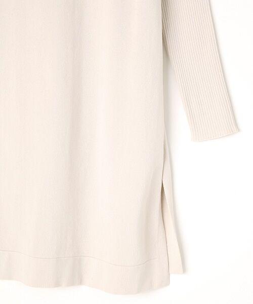 INGEBORG / インゲボルグ ニット・セーター | モックネックロング丈セーター | 詳細3