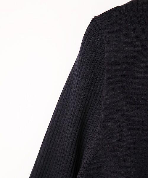 INGEBORG / インゲボルグ ニット・セーター | モックネックロング丈セーター | 詳細5