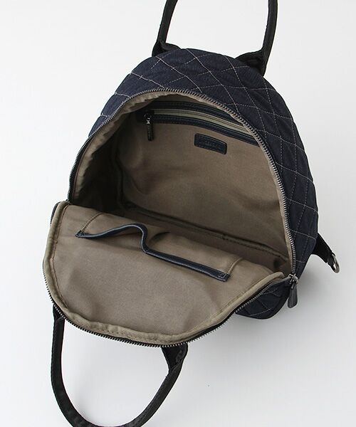 INGEBORG / インゲボルグ リュック・バックパック | 3WAYカメリア刺繍キルティングバッグ | 詳細4
