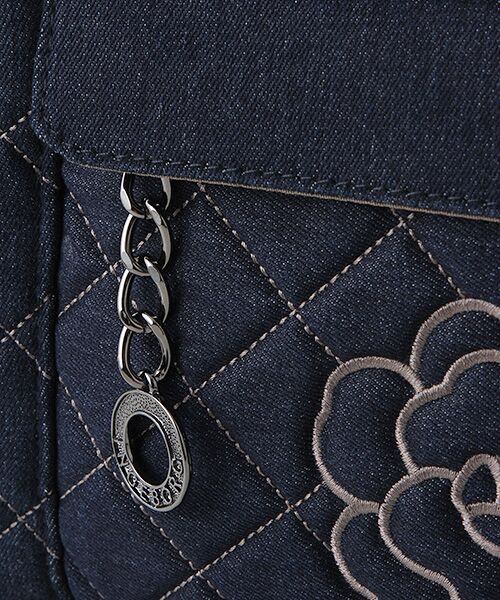 INGEBORG / インゲボルグ リュック・バックパック | 3WAYカメリア刺繍キルティングバッグ | 詳細5