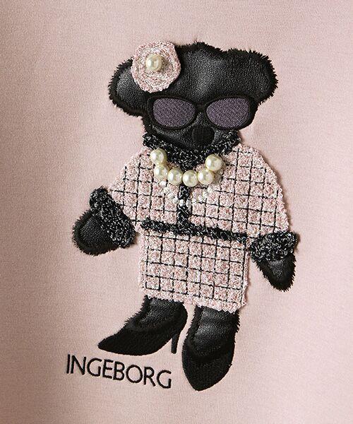 INGEBORG / インゲボルグ カットソー | クマアップリケダンボールジャージトレーナー | 詳細6