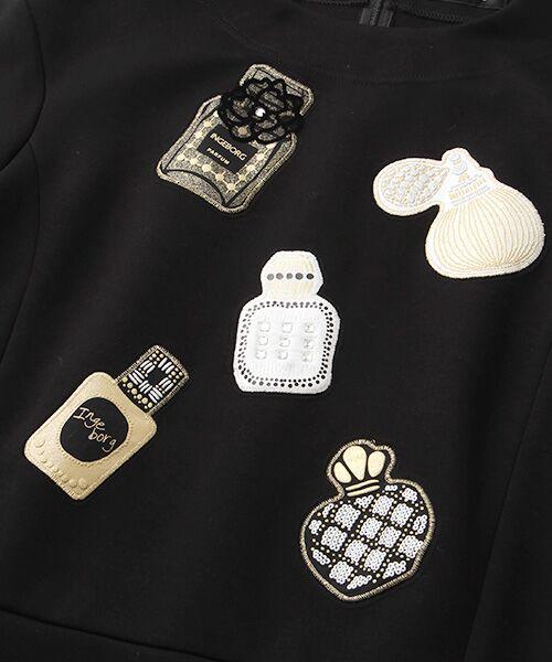 INGEBORG / インゲボルグ Tシャツ | 【アウトレット】香水瓶モチーフプルオーバー | 詳細1