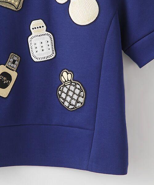 INGEBORG / インゲボルグ Tシャツ | 【アウトレット】香水瓶モチーフプルオーバー | 詳細4