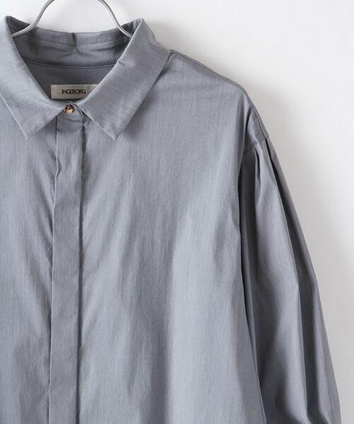 INGEBORG / インゲボルグ シャツ・ブラウス | お袖ふんわりカフスリボンブラウス | 詳細4