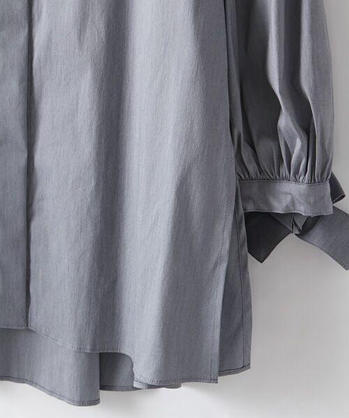 INGEBORG / インゲボルグ シャツ・ブラウス | お袖ふんわりカフスリボンブラウス | 詳細5
