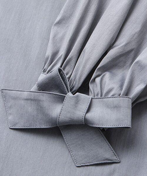 INGEBORG / インゲボルグ シャツ・ブラウス | お袖ふんわりカフスリボンブラウス | 詳細7
