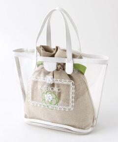 3e2eecc94a09 ... EXCLUSIVE】RUE DE VERNEUIL COURSEトートバッグ. TOMORROWLAND ¥18,792 40%OFF ·  12 巾着付きサマークリアトートバック