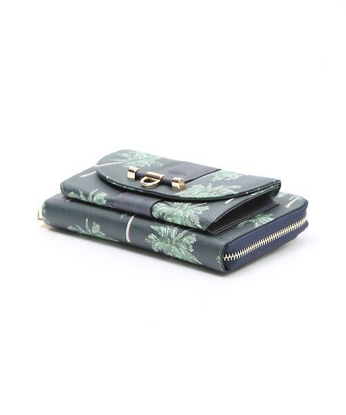 interstaple / インターステイプル 財布・コインケース・マネークリップ | パーム柄ウォレットポシェット | 詳細2