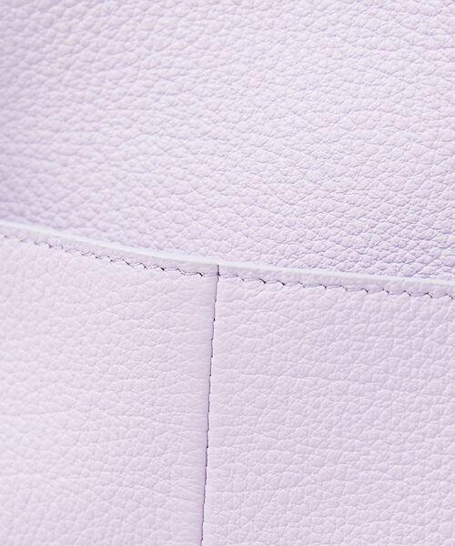 interstaple / インターステイプル トートバッグ   【新色追加】ポーチ付きタッセルレザーミニ   詳細25