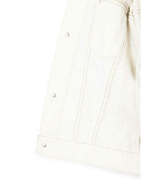 JILLSTUART / ジルスチュアート テーラードジャケット | ◆《JILL JEAN》キャンディスリーブデニムジャケット | 詳細11