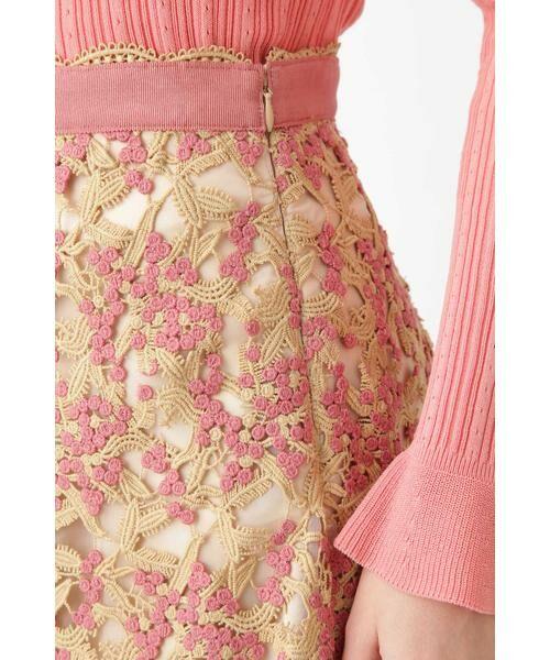 JILLSTUART / ジルスチュアート スカート | ◆[限定]ペニーレースフレアスカート | 詳細5
