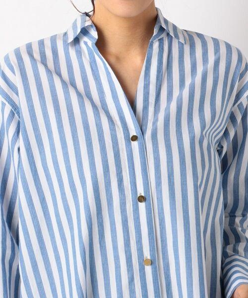 自由区 / ジユウク トップス | 【マガジン掲載】TIMELESS イタリアCANGIOLI ロングシャツ(検索番号C46) | 詳細8