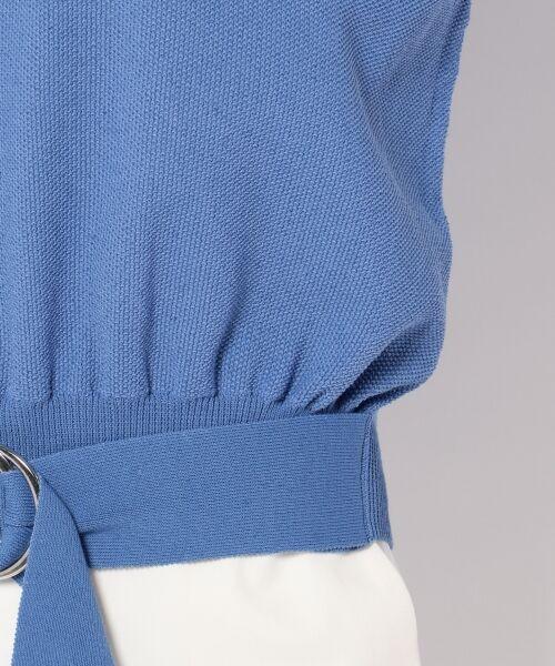 自由区 / ジユウク ニット・セーター | 【マガジン掲載】ウエストベルト付き ニットプルオーバー(検索番号E27) | 詳細12