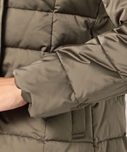 自由区 / ジユウク ダウンジャケット・ベスト | 【マガジン掲載】サテンタフタダウン ショート丈コート(検索番号U24) | 詳細8