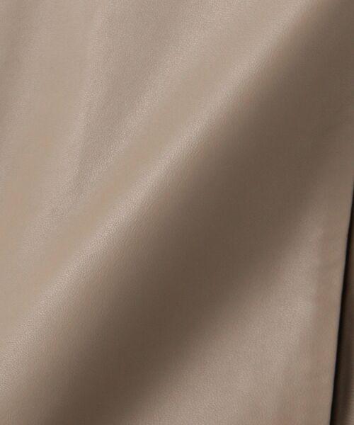 自由区 / ジユウク ノーカラージャケット | 【亜希さん着用】ラムレザー ジャケット(検索番号N36) | 詳細19