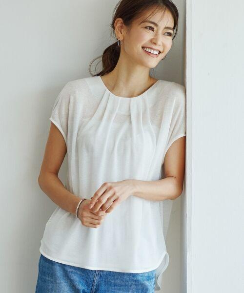 自由区 / ジユウク Tシャツ | 【新色追加】ラメパルサー 半袖プルオーバー(検索番号H49)(ホワイト)