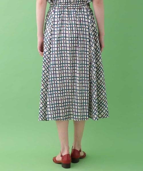Jocomomola / ホコモモラ ロング・マキシ丈スカート | Cuadro pt チェック総柄スカート | 詳細2