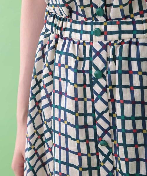 Jocomomola / ホコモモラ ロング・マキシ丈スカート | Cuadro pt チェック総柄スカート | 詳細3