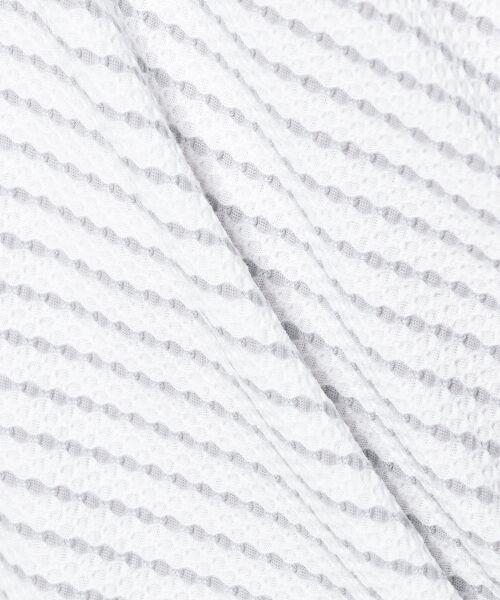 JOSEPH ABBOUD / ジョセフ アブード Tシャツ | ダイヤジャガードボーダー カットソー | 詳細6