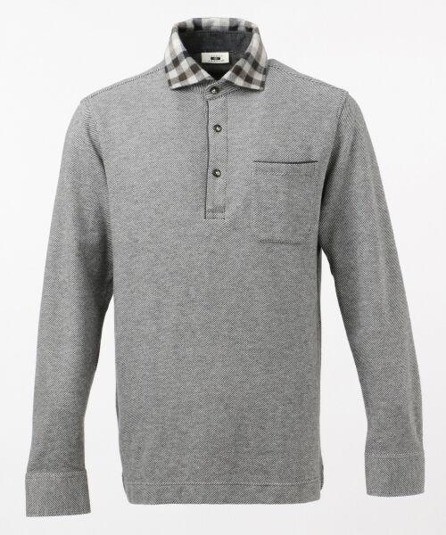 JOSEPH ABBOUD / ジョセフ アブード Tシャツ | 【洗える】カルゼWF カットソー(グレー系)