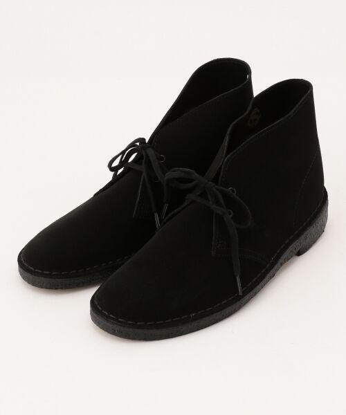 J.PRESS / ジェイプレス ブーツ(ロング丈) | 【Clarks】DESERT BOOTS シューズ(ブラック系)