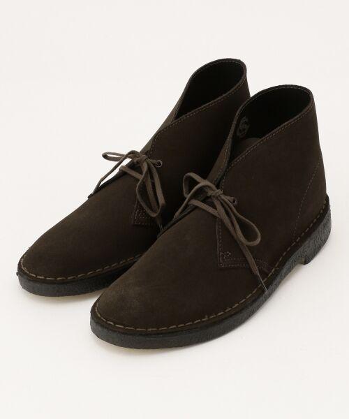 J.PRESS / ジェイプレス ブーツ(ロング丈) | 【Clarks】DESERT BOOTS シューズ(ブラウン系)