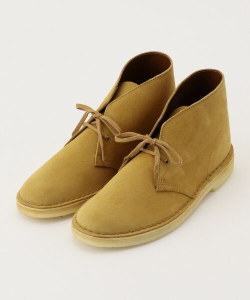 J.PRESS / ジェイプレス ブーツ(ロング丈)   【Clarks】DESERT BOOTS / シューズ(キャメル系)