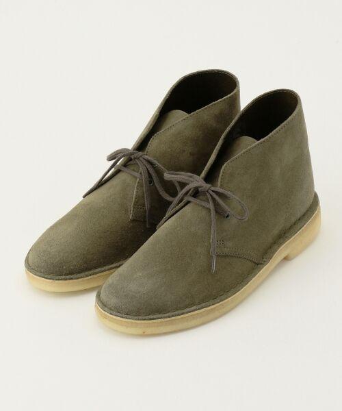 J.PRESS / ジェイプレス ブーツ(ロング丈)   【Clarks】DESERT BOOTS / シューズ(ダークグリーン系)