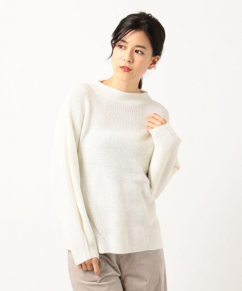J.PRESS / ジェイプレス ニット・セーター | 【洗える】片畦ニット | 詳細3